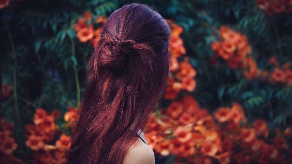 mahogany hair color