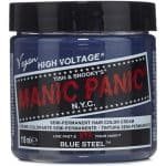 Manic Panic Semi-Permament Haircolor, Blue Steel 4 oz