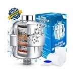 [ New Version]Shower Filter, Head Shower Filter for Hard Water with New Coconut Shell Activated Carbon Technology