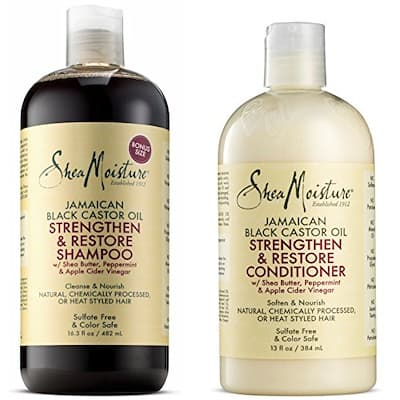 Shea Moisture Jamaican Black Castor Oil Natural Chemically Processed