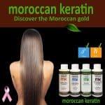 Moroccan Keratin Most Effective Brazilian Keratin Hair Treatment SET 120ML x4