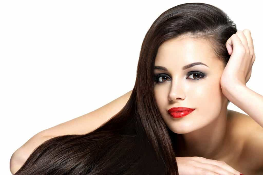 how to straighten hair at home permanently