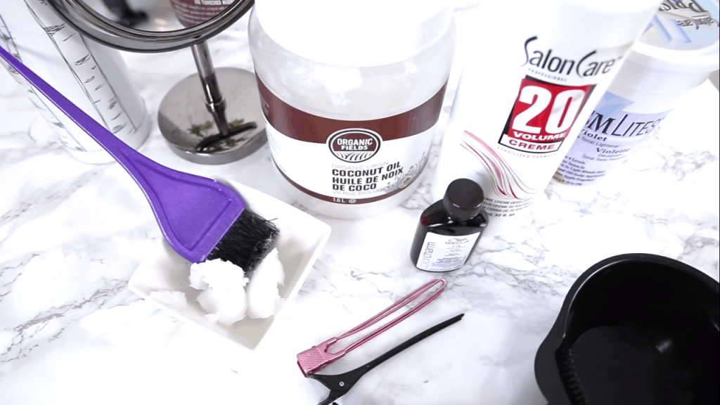 white hair ingredients
