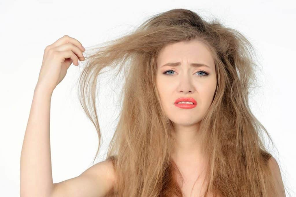 how to straighten frizzy hair