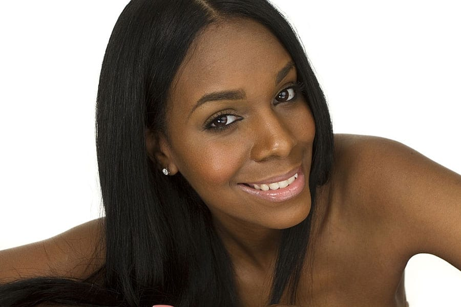 how to straighten natural black hair