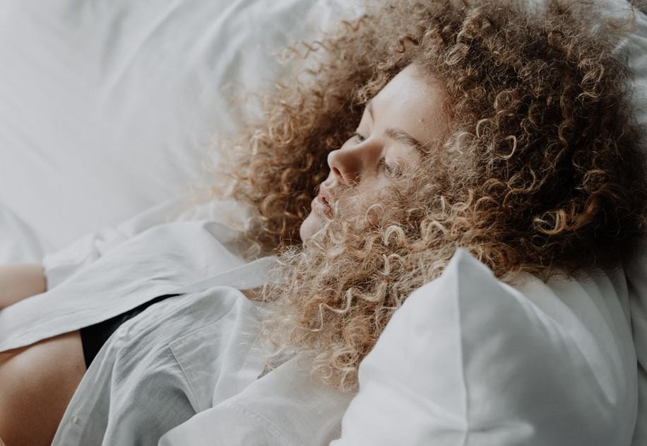 how to sleep with permed hair