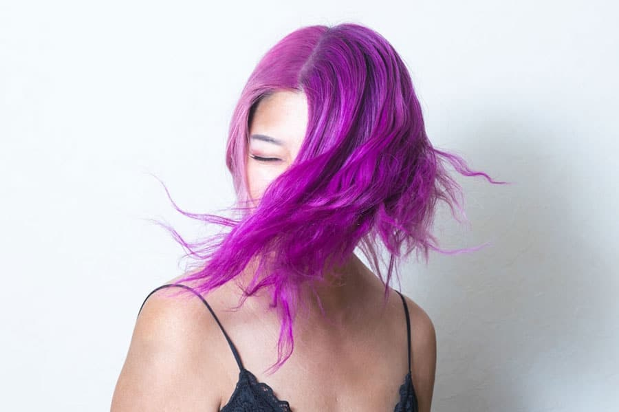 How to Dye Brown Hair Purple without Bleach