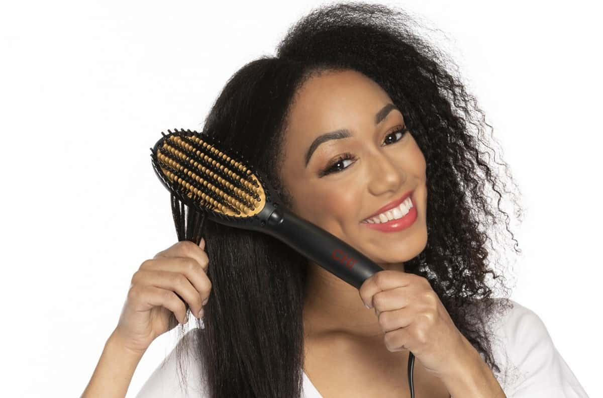why do you need to clean straightening brush