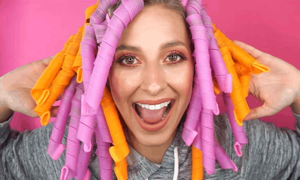 how to use spiral curlers