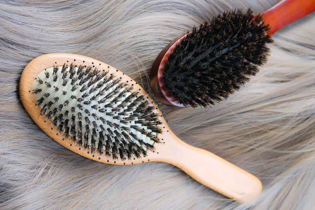 how to use a boar bristle brush