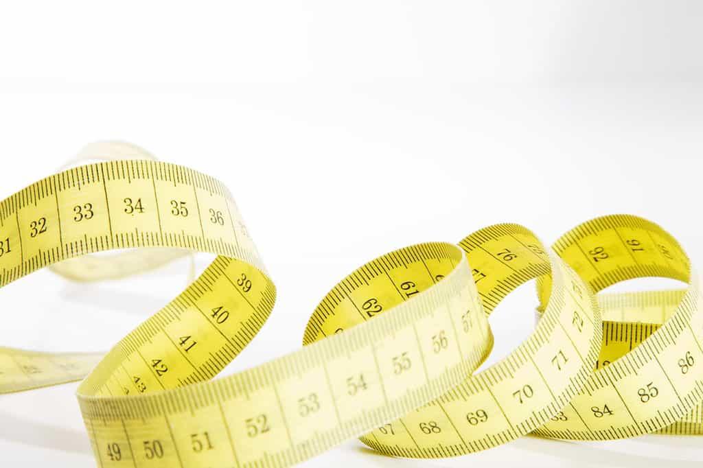 measuring curling iron